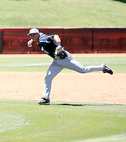 Zach Walters, San Diego Toreros, playing in the NCAA Tempe Regional against Wisconsin-Milwaukee at Packard Stadium, Tempe, AZ - 06/04/2010.Photo by:  Bill Mitchell/Four Seam Images.