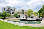 Scottish Parliament, Edinburgh. <br /> <br /> Stock photograph for editorial use only.<br /> <br /> Image by: Malcolm McCurrach | New Wave Images UK<br /> Thu, 29, May, 2014