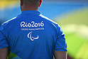 Referee, <br /> SEPTEMBER 12, 2016 - Wheelchair Tennis : <br /> Men's Singles Shingo Kunieda 2-0 Shunjiang Dong <br /> at Olympic Tennis Centre<br /> during the Rio 2016 Paralympic Games in Rio de Janeiro, Brazil.<br /> (Photo by AFLO SPORT)