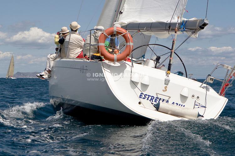 Estrella Azul .I REGATA CAP I CUA, Oliva-Canet d'en Berenguer. 6-7- Junio 2009