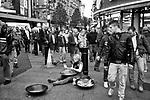 Londyn, 2009-10-23. Leicester Square - plac w centralnym Londynie - stanowi centrum rozrywki i jedn? z g?ůwnych atrakcji turystycznych miasta