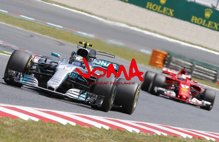 Valtteri Bottas (FIN) Mercedes-Benz at  Formula 1, Spanish Grand Prix, Barcelona.