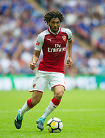 Arsenal's Mohamed Elneny during the The FA Community Shield Final match between Arsenal and Chelsea at Wembley Stadium, London, England on 6 August 2017. Photo by Andrew Aleksiejczuk / PRiME Media Images.