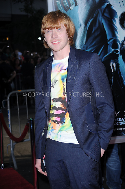 WWW.ACEPIXS.COM . . . . .  ....July 9 2009, New York City....Rupert Grint at the New York premiere of 'Harry Potter and the Half-Blood Prince' at Ziegfeld Theatre on July 9, 2009 in New York City....Please byline: KRISTIN CALLAHAN - ACE PICTURES.... *** ***..Ace Pictures, Inc:  ..tel: (212) 243 8787 or (646) 769 0430..e-mail: info@acepixs.com..web: http://www.acepixs.com