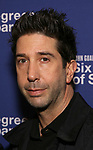 David Schwimmer attends the Opening Night Performance of 'Six Degrees Of Separation' at the Barrymore Theatre on April 25, 2017 in New York City.