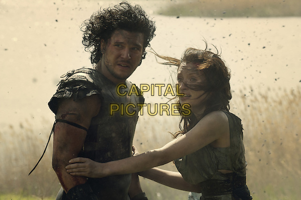 Kit Harington, Emily Browning<br /> in Pompeii (2014) <br /> *Filmstill - Editorial Use Only*<br /> CAP/NFS<br /> Image supplied by Capital Pictures