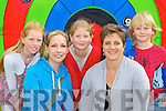 Aine, Breda and Jessica Scott, Christine O'Brien and Stuart Scott Milltown on target at the Milltown family funday on Sunday....