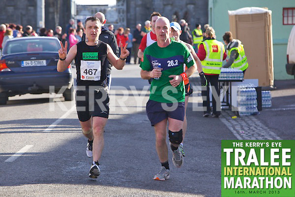 0467 Richard Murphy who took part in the Kerry's Eye, Tralee International Marathon on Saturday March 16th 2013.