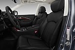 Front seat view of 2016 Infiniti QX50 - 5 Door Suv Front Seat  car photos