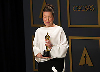 09 February 2020 - Hollywood, California - Jacqueline Durran attends  the 92nd Annual Academy Awards presented by the Academy of Motion Picture Arts and Sciences held at Hollywood & Highland Center. Photo Credit: Theresa Shirriff/AdMedia