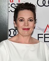 """16 November 2019 - Hollywood, California - Olivia Colman. AFI FEST 2019 Presented By Audi – """"The Crown"""" Premiere held at TCL Chinese Theatre. Photo Credit: Billy Bennight/AdMedia"""