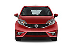 Car photography straight front view of a 2015 Nissan Versa Note 5 Door Hatchback