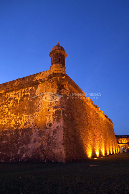 Castillo San Felipe del Morro also known as Fort San Felipe del Morro or Morro Castle, is a 16th-century citadel located in San Juan, Puerto Rico.