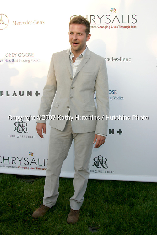 Bradley Cooper.6th Annual Chrysalis Butterfly Ball.Private Home of Susan Harris & Hayward Kaiser.Brentwood, CA.June 2, 2007.©2007 Kathy Hutchins / Hutchins Photo....