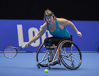 Rotterdam, Netherlands, December 14, 2016, Topsportcentrum, Lotto NK Tennis,  Wheelchair, Marlise Peters (NED) <br /> Photo: Tennisimages/Henk Koster