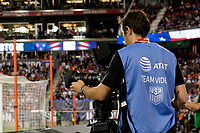 Harrison, NJ - Friday Sept. 01, 2017: AT&T bib during a 2017 FIFA World Cup Qualifier between the United States (USA) and Costa Rica (CRC) at Red Bull Arena.