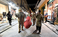 2017 02 19 Phallic procession, Athens, Greece