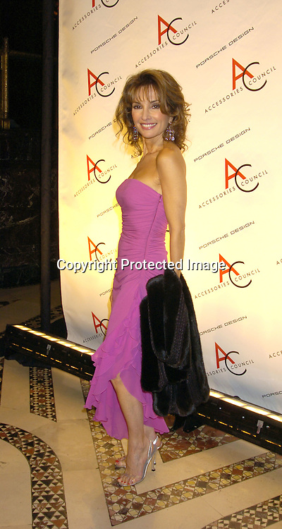 Susan Lucci ..at The Accessories Council 8th Annual ACE Awards on ..November 1, 2004 at Cipriani 42nd Street. ..Photo by Robin Platzer, Twin Images