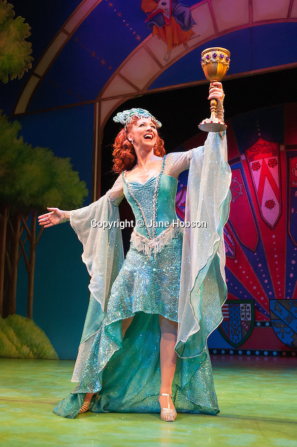 Monty Python's SPAMALOT, the hit musical lovingly ripped off from Monty Python and the Holy Grail opens at the Harold Pinter Theatre. Picture shows: Bonnie Langford.