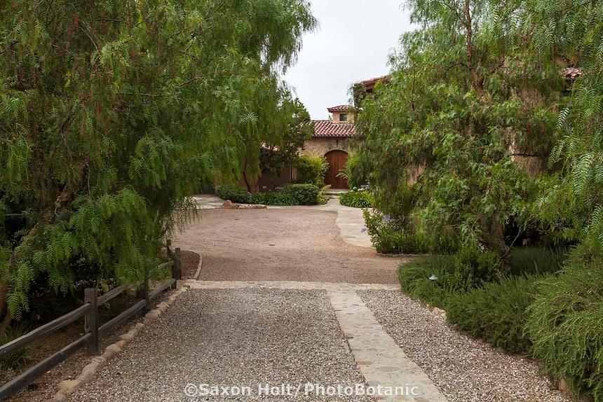 Heimark Garden, Solvang, California; Design - Arcadia Studio