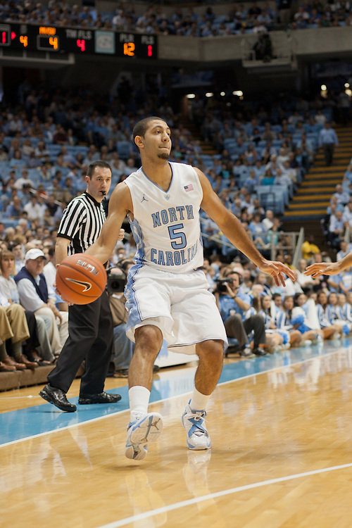 Kendall Marshall, UNC vs Mississippi Valley State at the Dean Smith Center, Chapel Hill, NC, Sunday, November 20, 2011. .