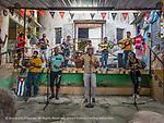 Muraleando musicians