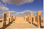 Isarael, Negev, Avdat, built in the 1st century by the Nabateans. A world Heritage Site as part of the Spice Route, ruins of the Northern Church