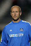 27 March 2004: Wizards assistant coach Brian Bliss. Los Angeles Galaxy defeated the Kansas City Wizards 1-0 at SAS Stadium in Cary, NC in the final preseason game for both Major League Soccer teams as part of the Cary Pro Kickoff Invitational tournament..