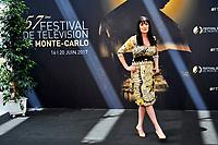Paget Brewster (Crimal Minds)<br /> Monaco - 20/06/2017<br /> 57 festival TV Monte Carlo <br /> Foto Norbert Scanella / Panoramic / Insidefoto