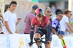 Team Ineos including Vasil Kiryienka (BLR) in action during Stage 1 of La Vuelta 2019, a team time trial running 13.4km from Salinas de Torrevieja to Torrevieja, Spain. 24th August 2019.<br /> Picture: Eoin Clarke | Cyclefile<br /> <br /> All photos usage must carry mandatory copyright credit (© Cyclefile | Eoin Clarke)