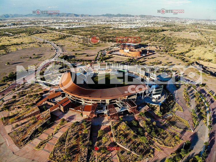 Vista Aerea de Estadio Sonora.<br /> Estadio de beisbol.<br /> (Photo: Luis Gutierrez /NortePhoto)<br /> <br /> <br /> Aerial view of Sonora Stadium.<br /> Beisball Stadium.<br /> (Photo: Luis Gutierrez / NortePhoto)