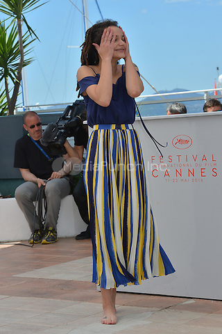Sasha Lane at the Photocall &acute;American Honey` - 69th Cannes Film Festival on May 15, 2016 in Cannes, France.<br /> CAP/LAF<br /> &copy;Lafitte/Capital Pictures /MediaPunch ***NORTH AND SOUTH AMERICA ONLY***
