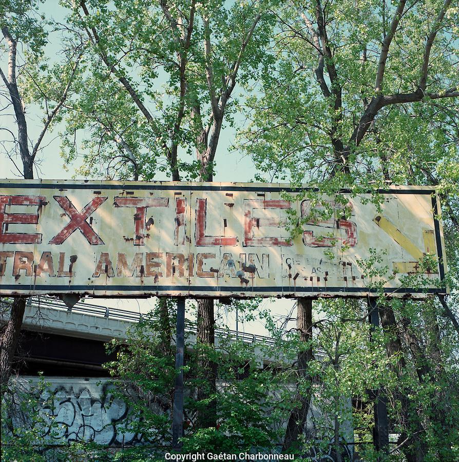 Old Billboard sign