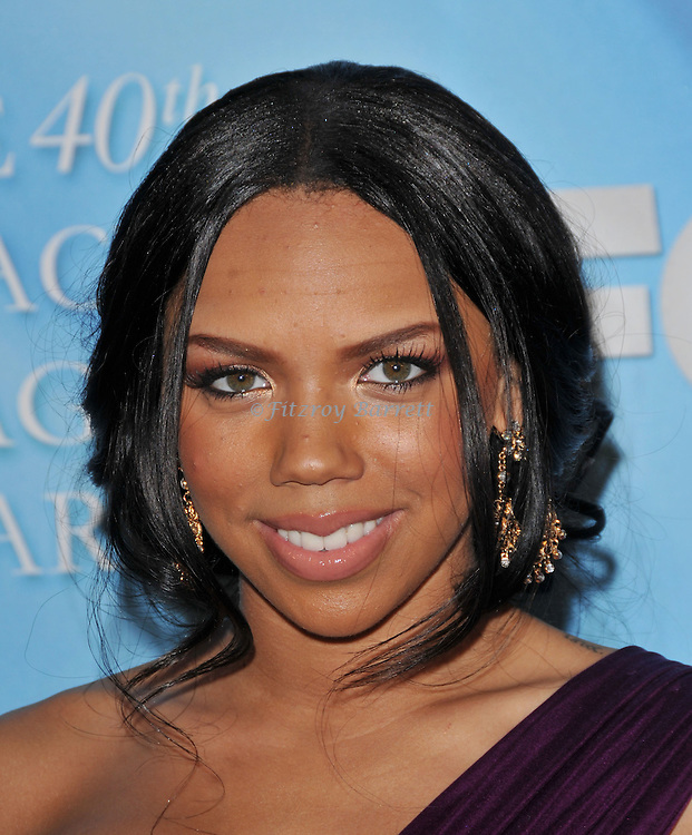 Kiely Williams arriving at the 40th NAACP Image Awards held at the Shrine Auditorium Los Angeles, Ca. February 12, 2009. Fitzroy Barrett