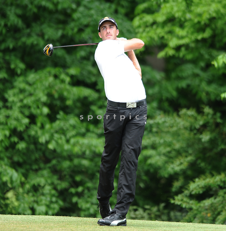 GEOFF OGILVY, during the second round of the Quail Hollow Championship, on May 1, 2009 in Charlotte, NC.