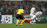 Beram Kayal scores the second goal for Celtic