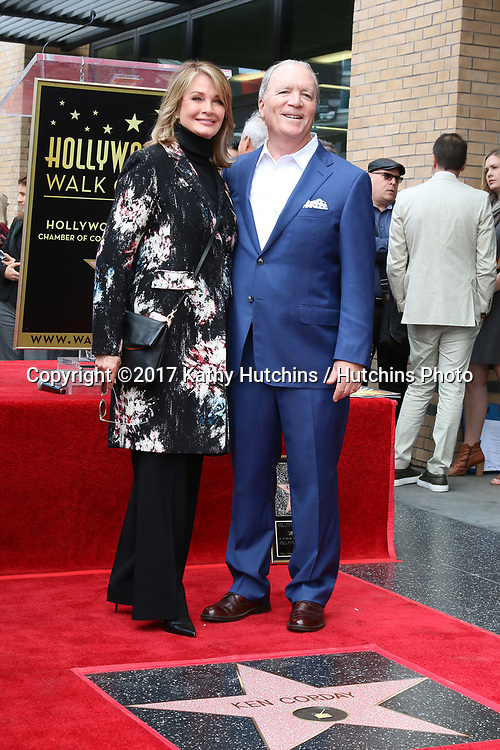 LOS ANGELES - MAY 15:  Deidre Hall, Ken Corday at the Ken Corday Star Ceremony on the Hollywood Walk of Fame on May 15, 2017 in Los Angeles, CA