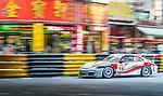 Wayne Shen races the Macau GT Cup during the 61st Macau Grand Prix on November 16, 2014 at Macau street circuit in Macau, China. Photo by Aitor Alcalde / Power Sport Images