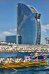 Bandera Euskadi Basque Country Barcelona 16/06/2013.<br /> Hotel W.