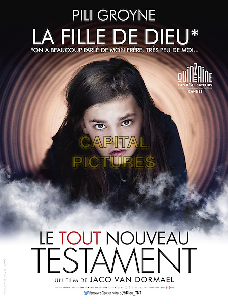 The Brand New Testament (2015)<br /> (Le tout nouveau testament)<br /> POSTER ART<br /> *Filmstill - Editorial Use Only*<br /> CAP/KFS<br /> Image supplied by Capital Pictures