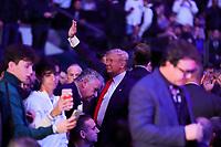 NOVA YORK, EUA, 02.11.2019 - UFC-NOVA YORK - Donald Trump presidente Norte Americano é visto durante o UFC 244 no Madison Square Garden na cidade de Nova York neste sábado, 02. (Foto: Vanessa Carvalho/Brazil Photo Press)
