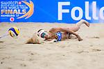 26.08.2017, Hamburg, Stadion Am Rothenbaum<br />Beachvolleyball, World Tour Finals<br /><br />Abwehr Eduarda (Duda) Santos Lisboa (#2 BRA)<br /><br />  Foto © nordphoto / Kurth