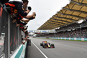 1st October 2017, Sepang, Malaysia;  FIA Formula One World Championship, Grand Prix of Malaysia, 33 Max Verstappen (NLD, Red Bull Racing), Sepang Malaysia