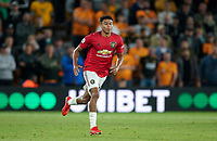 Jesse Lingard of Man Utd during the Premier League match between Wolverhampton Wanderers and Manchester United at Molineux, Wolverhampton, England on 19 August 2019. Photo by Andy Rowland.
