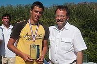 04 July 2010: Benjamin Rodriguez, championnat Cadets, Ronchin, France.