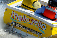 "Transom: Phil Jordan, JS-60 ""Mello Yellow"" (Jersey Speed Skiff)"