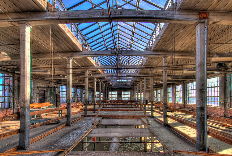 HDR of old mill interior no.3