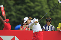 Minjee Lee (AUS) in action on the 9th during Round 4 of the HSBC Womens Champions 2018 at Sentosa Golf Club on the Sunday 4th March 2018.<br /> Picture:  Thos Caffrey / www.golffile.ie<br /> <br /> All photo usage must carry mandatory copyright credit (&copy; Golffile | Thos Caffrey)