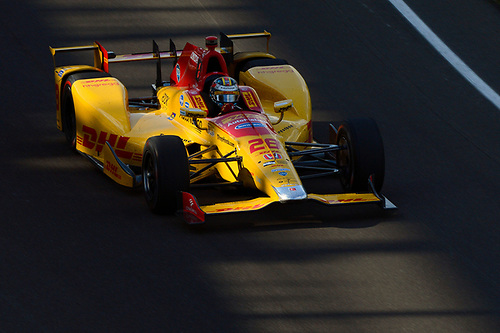 16-20 May, 2016, Indianapolis, Indiana, USA<br /> Ryan Hunter-Reay (#28)<br /> ©2016, F. Peirce Williams<br /> LAT Photo USA