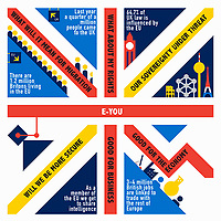 Statistics inside Union Jack flag ExclusiveImage ExclusiveArtist